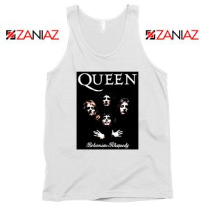 Bohemian Rhapsody Tank Top Queen Band Best Tank Top Size S-3XL White