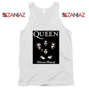 Bohemian Rhapsody Tank Top Queen Band Best Tank Top Size S-3XL White