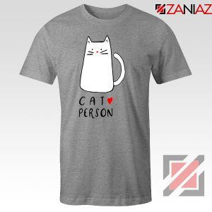 Buy Cat Lovers T-Shirt Best Animal Tee Shirt Size S-3XL Sport Grey