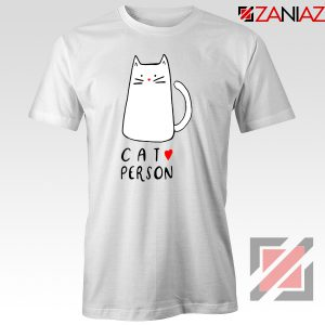 Buy Cat Lovers T-Shirt Best Animal Tee Shirt Size S-3XL White