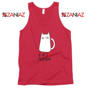 Buy Cat Lovers Tank Top Best Animal Tank Top Size S-3XL Red