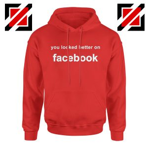 Buy Relaxed Hoodie Cheapest Funny Quote Hoodie Size S-2XL Red