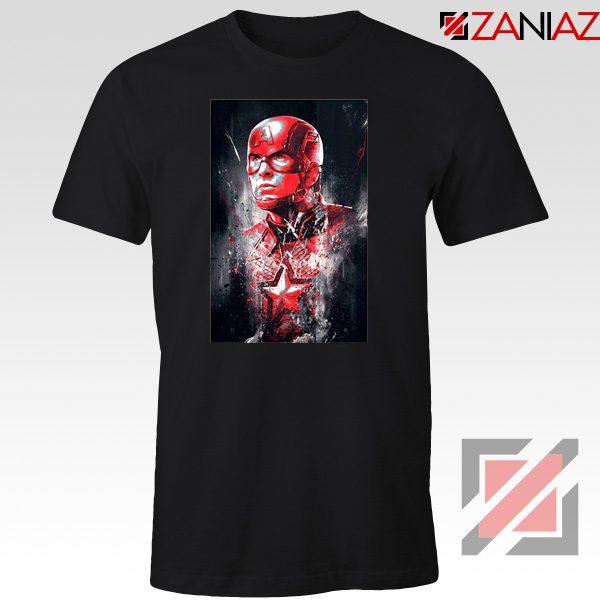 Captain America Marvel Avengers Assemble Cheap T-shirts Size S-3XL Black