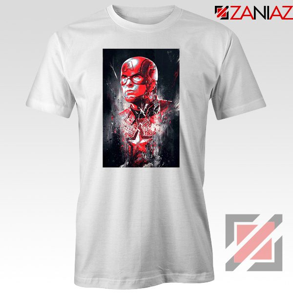 Captain America Marvel Avengers Assemble Cheap T-shirts Size S-3XL White