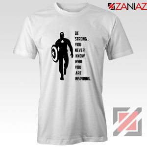 Captain America Quote T-Shirt Marvel Film Best T-Shirt Size S-3XL White