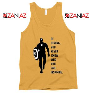 Captain America Quote Tank Top Marvel Film Tank Top Size S-3XL Sunshine