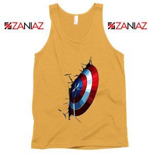Captain America Shield Tank Top Marvel Studio Tank Top Size S-3XL Sunshine