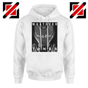 Captain America Whatever It Takes Hoodie Avengers Endgame Hoodie White