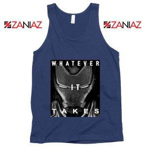 Captain America Whatever It Takes Tank Top Avengers Tank Top Navy