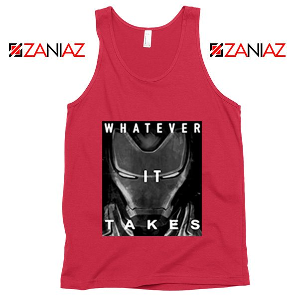 Captain America Whatever It Takes Tank Top Avengers Tank Top Red
