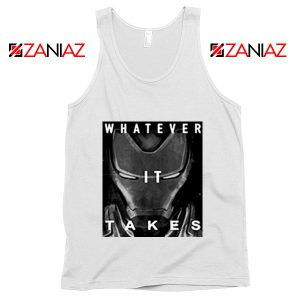Captain America Whatever It Takes Tank Top Avengers Tank Top White
