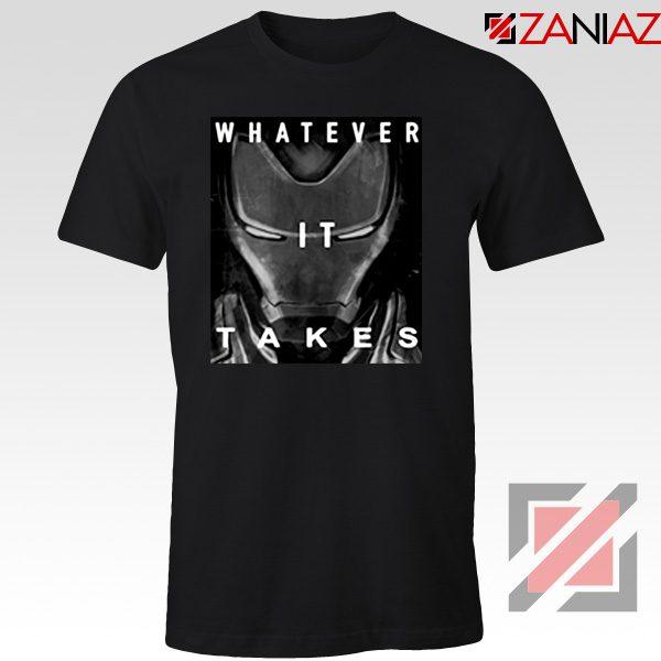 Captain America Whatever It Takes Tshirt Avengers Endgame Tshirt Black