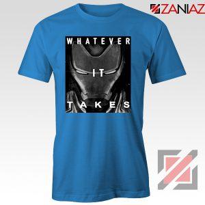 Captain America Whatever It Takes Tshirt Avengers Endgame Tshirt Blue