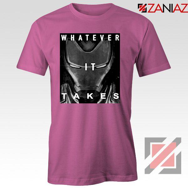Captain America Whatever It Takes Tshirt Avengers Endgame Tshirt Pink