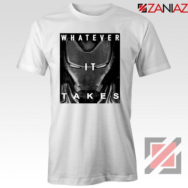 Captain America Whatever It Takes Tshirt Avengers Endgame Tshirt White