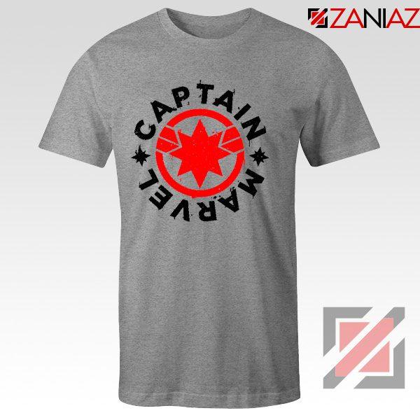 Captain Marvel Superhero Tshirts Marvel Comics Character Tee Shirts Sport Grey