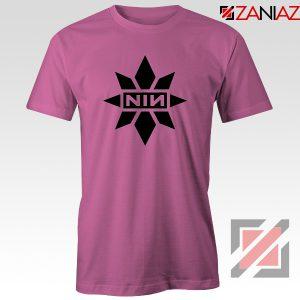 Captain Marvel X NIN T-Shirt Marvel Film Tee Shirt Size S-3XL Pink
