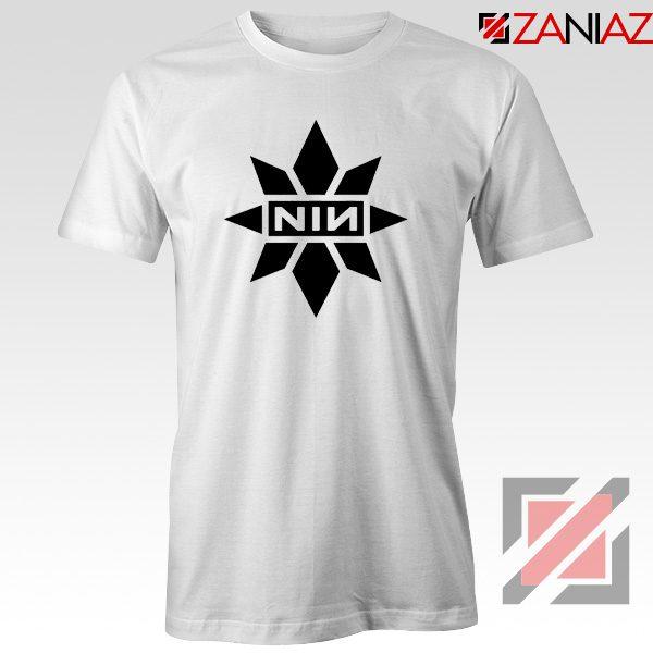 Captain Marvel X NIN T-Shirt Marvel Film Tee Shirt Size S-3XL White