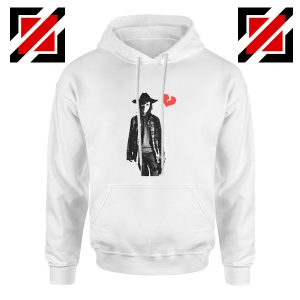 Carl Grimes Heartbreak Hoodie The Walking Dead Hoodie Size S-2XL White