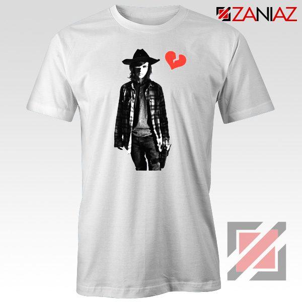 Carl Grimes Tee Shirt Walking Dead TV Series Best Tshirt White