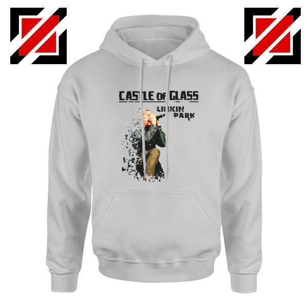 Castle Of Glass Hoodie Linkin Park Chester Bennington Hoodie Sport Grey