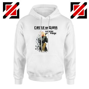Castle Of Glass Hoodie Linkin Park Chester Bennington Hoodie White