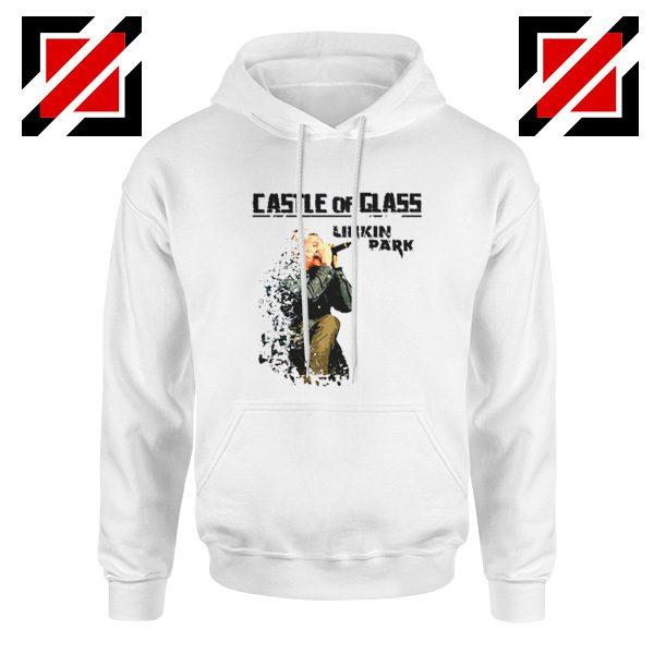 Castle Of Glass Hoodie Linkin Park Chester Bennington Hoodie White