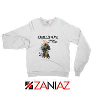 Castle Of Glass Sweatshirt Linkin Park Chester Bennington Sweatshirt White