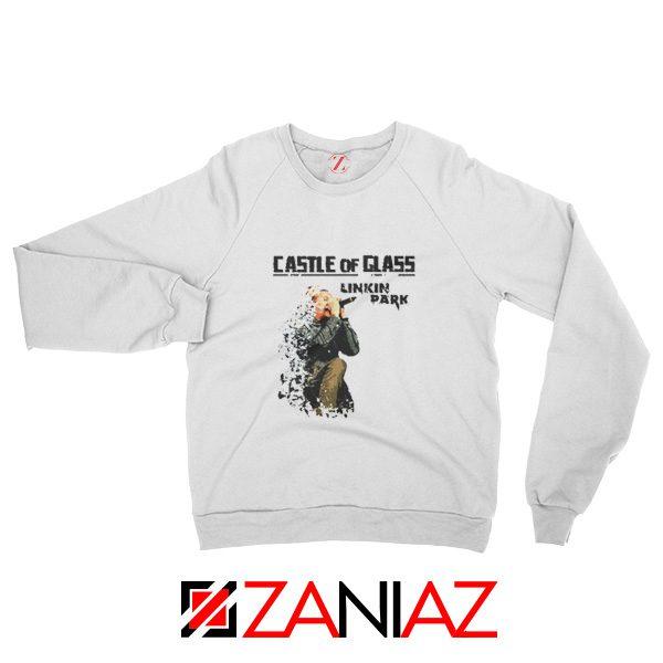Castle Of Glass Sweatshirt Linkin Park Chester Bennington Sweatshirt White