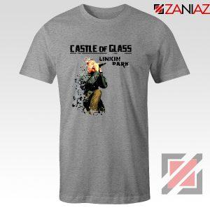 Castle Of Glass T-Shirt Linkin Park Chester Bennington T-Shirt Size S-3XL Sport Grey