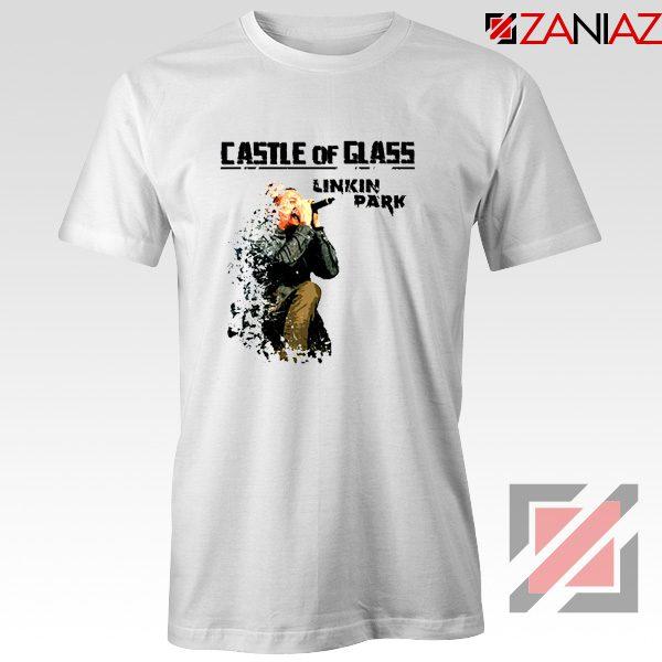 Castle Of Glass T-Shirt Linkin Park Chester Bennington T-Shirt Size S-3XL White