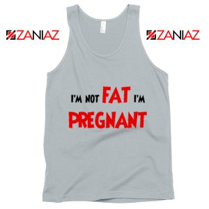 Cheap Pregnancy Tank Top Funny Slogan Tank Top Size S-3XL Silver