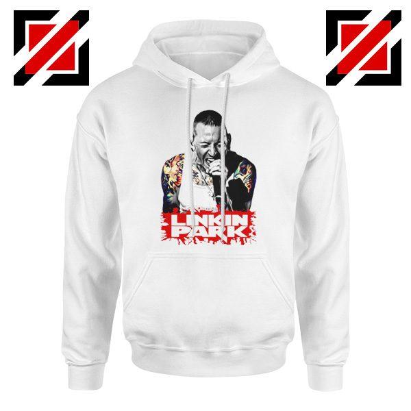 Chester Bennington Hoodie Linkin Park Best Hoodie Size S-2XL White
