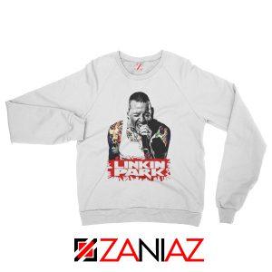 Chester Bennington Sweatshirt Linkin Park Best Sweatshirt Size S-2XL White