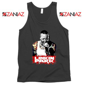 Chester Bennington Tank Top Linkin Park Best Tank Top Size S-3XL Black