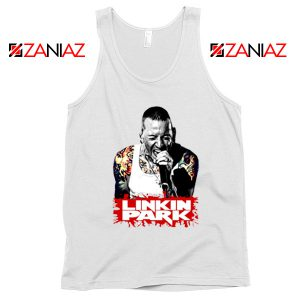 Chester Bennington Tank Top Linkin Park Best Tank Top Size S-3XL White