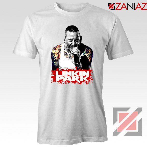 Chester Bennington Tshirt Linkin Park Best Tshirts Size S-3XL White