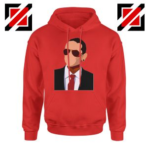 Chester Charles Bennington Hoodie American Singer Hoodie Size S-2XL Red
