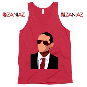 Chester Charles Bennington Tank Top American Singer Tank Top Red