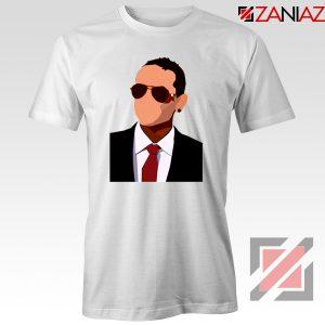 Chester Charles Bennington Tshirt American Singer T-shirt Size S-3XL White
