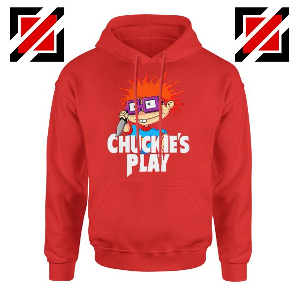 Chuckies Play Hoodie Rugrats Chuckie's Cheap Hoodie Size S-2XL Red