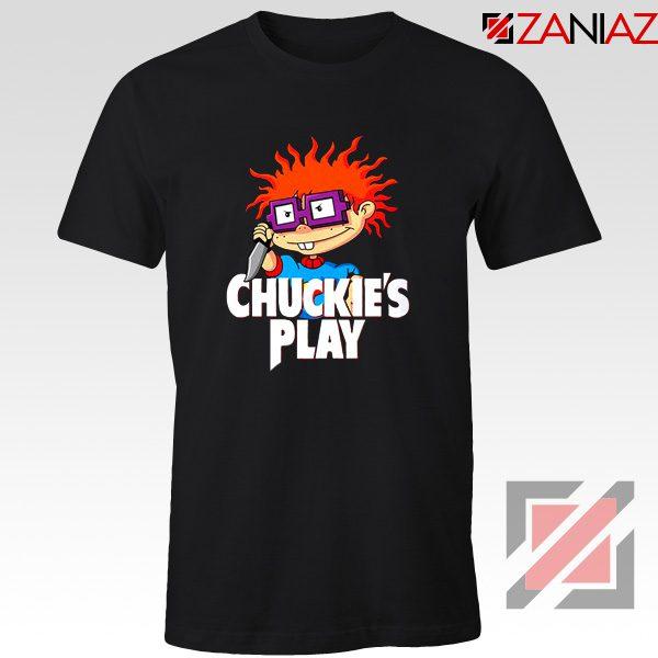 Chuckies Play T-Shirt Rugrats Chuckie's Cheap T-Shirt Size S-3XL Black