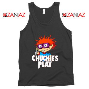 Chuckies Play Tank Top Rugrats Chuckie's Tank Top Size S-3XL Black