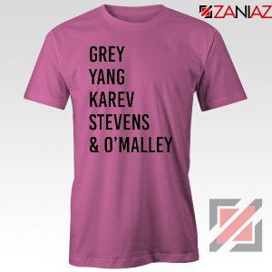 Cristina Yang Tee Shirt Grey's Anatomy Squad T-Shirt Size S-3XL Pink