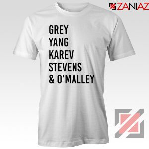 Cristina Yang Tee Shirt Grey's Anatomy Squad T-Shirt Size S-3XL White