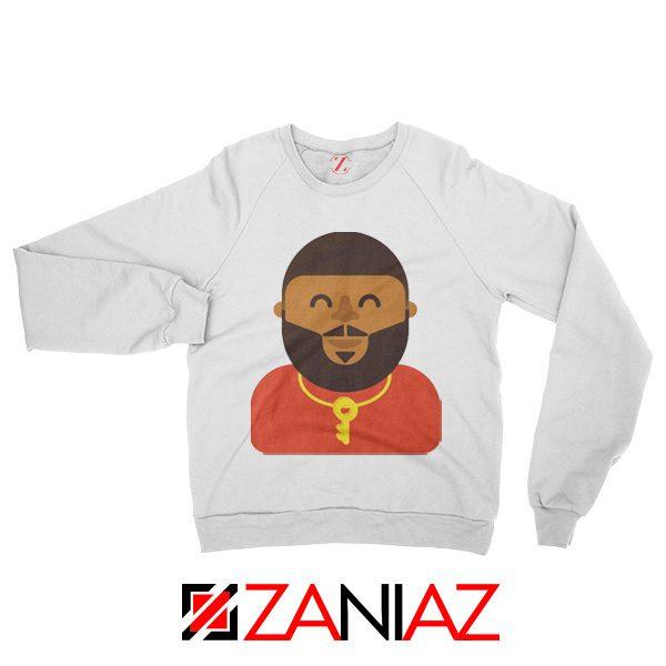 DJ Khaled Sweatshirt American DJ Best Sweatshirt Unisex Adult White