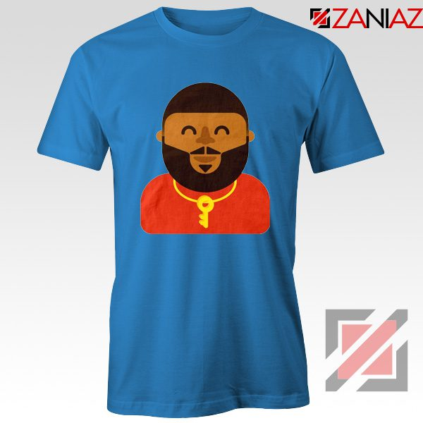 DJ Khaled T-shirt American DJ Best T-shirt Unisex Adult Size S-3XL Blue