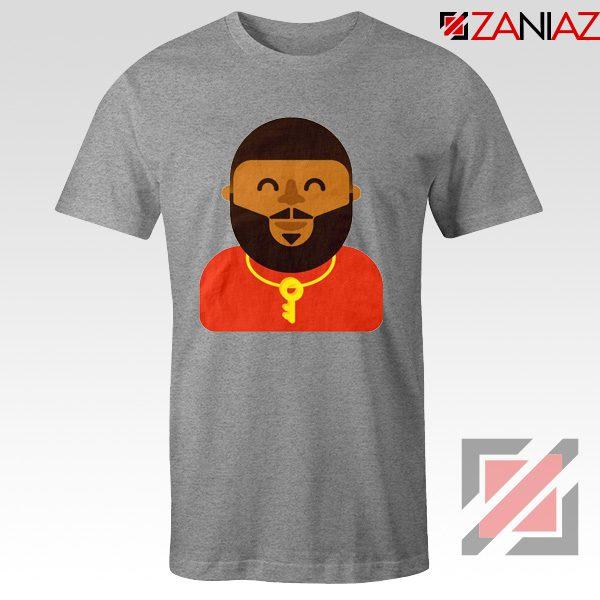 DJ Khaled T-shirt American DJ Best T-shirt Unisex Adult Size S-3XL Sport Grey