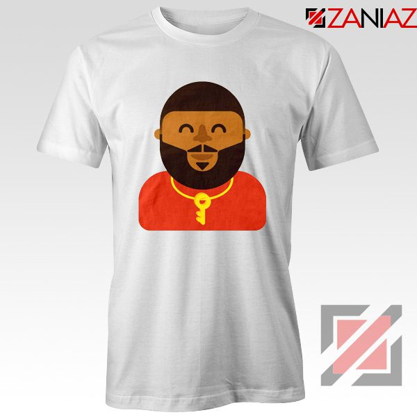 DJ Khaled T-shirt American DJ Best T-shirt Unisex Adult Size S-3XL White
