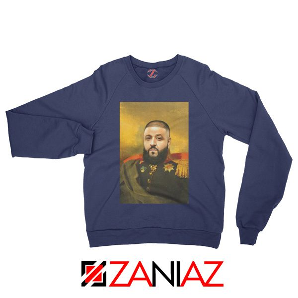 DJ Khaled We The Best Sweatshirt Funny DJ Music Cheap Sweatshirt Navy Blue